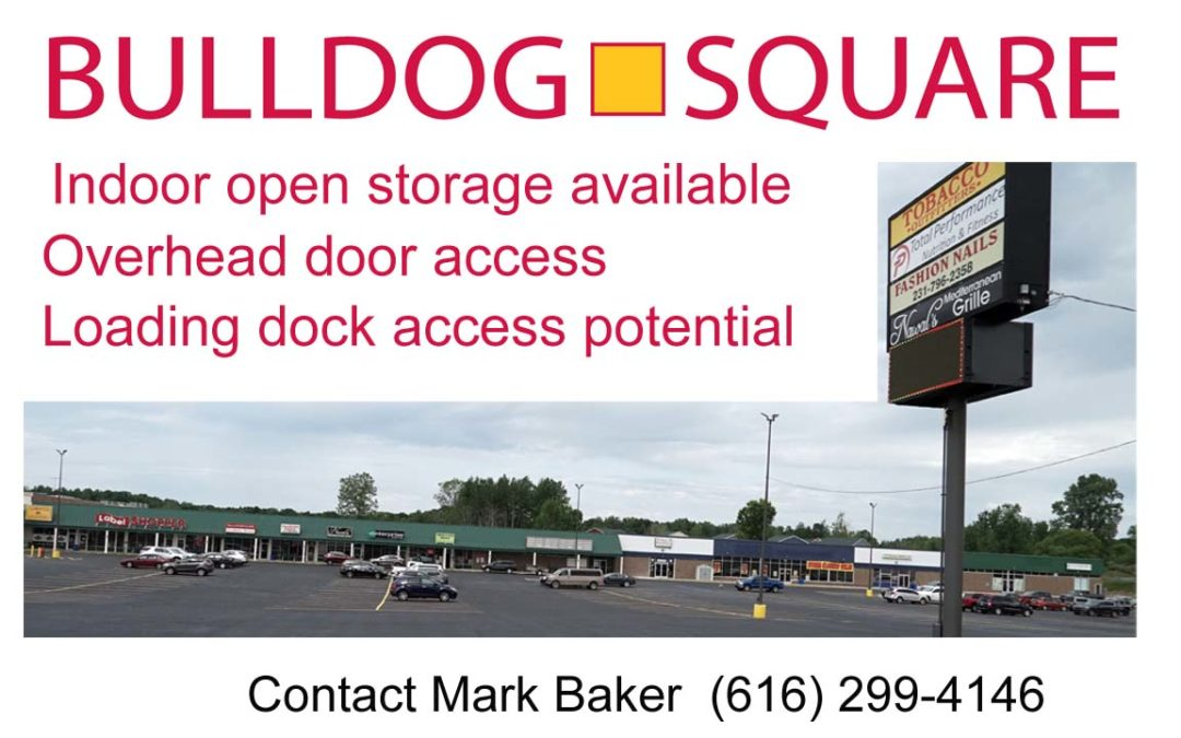 Indoor Storage Available